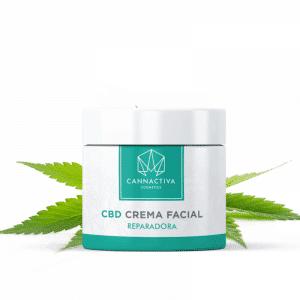 Crema Facial Hidratante con CBD (50ml)
